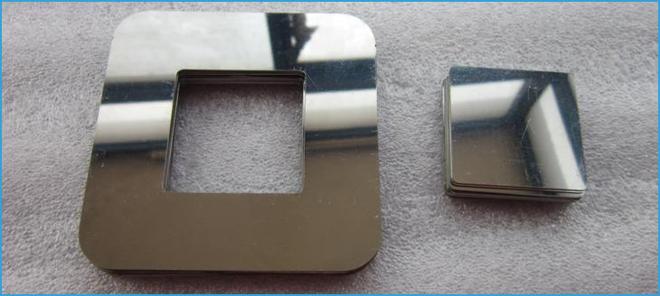 Laser cut mirorr polishing stainless steel